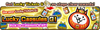 Lucky capsules G event