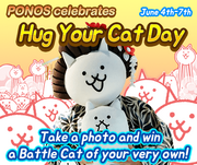 Hug your cat day en