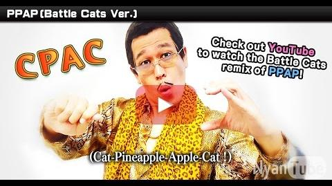 "The Battle Cats & Pikotaro - ""CPAC"" (OFFICIAL)-0"