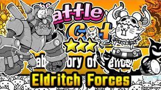 Freeze Strat, 3 ⭐⭐⭐ Laboratory of Relics, Eldritch Forces Battle Cats