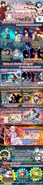 Shoumetsu Toshi x The Battle Cats collab event poster 2020 EN