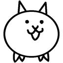 Normal cat left icon