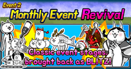 Monthly event revival