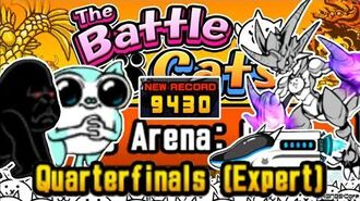 Cheese Strat w Bullet and Bahamut (9430) Tag Arena Pro, Quarterfinals (Expert) Battle Cats