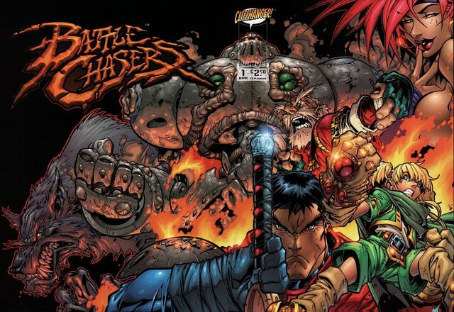 File:Battle Chasers first cover.jpg