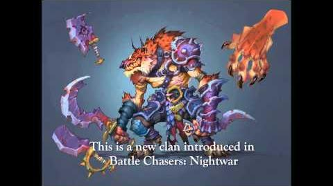 Battle Chasers Nightwar - Creature Spotlight Lycelot!