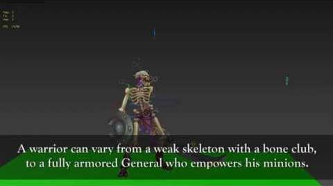 Battle Chasers Nightwar - Creature Spotlight Skeletons