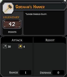 Gordakars Hammer profile