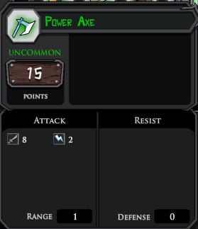 Power Axe profile