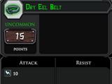 Dry Eel Belt