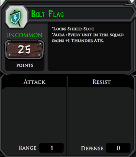 Bolt Flag profile