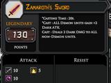 Zamaroth's Sword