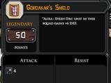 Gordakar's Shield