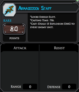 Armageddon Staff profile