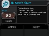 Ok Koraz's Staff