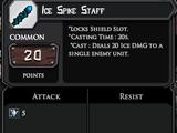 Ice Spike Staff