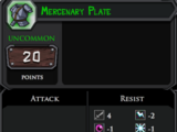 Mercenary Plate