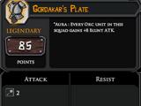 Gordakar's Plate