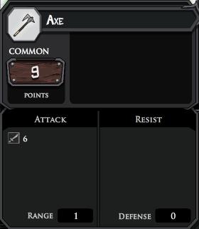 Axe profile