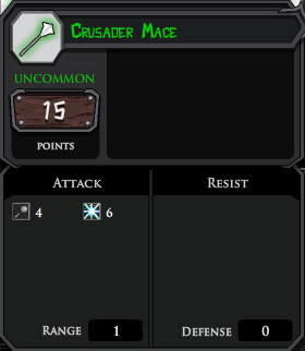 Crusader Mace profile