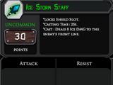 Ice Storm Staff