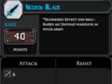 Necron Blade