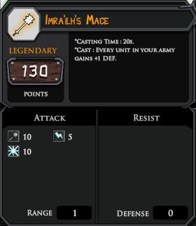 Imrailhs Mace profile