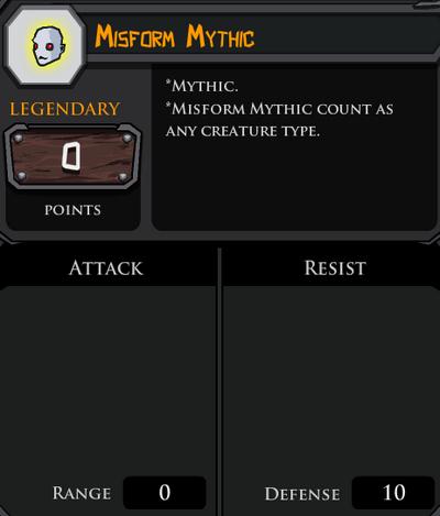 Misform Mythic profile