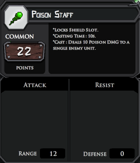 Poison Staff profile
