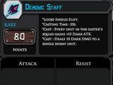 Demonic Staff