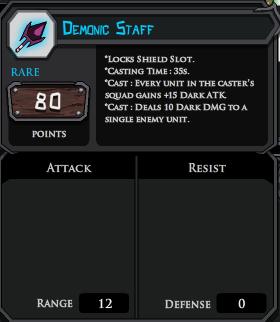 Demonic Staff profile