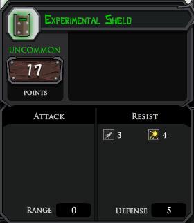 Experimental Shield profile