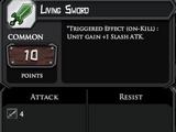 Living sword