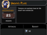 Umenth's Plate