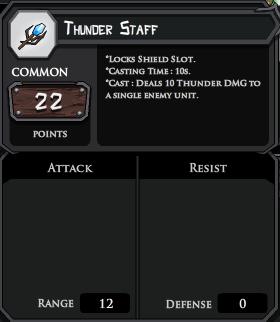 Thunder Staff profile