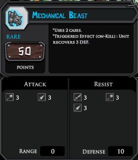 Mechanical Beast profile