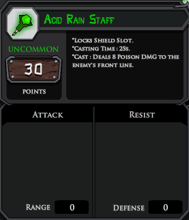 Acid Rain Staff profile