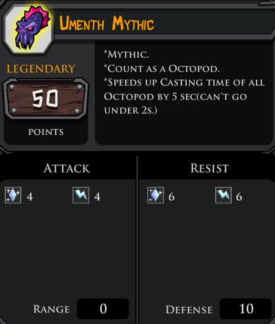 Umenth Mythic profile