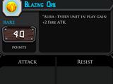 Blazing Orb