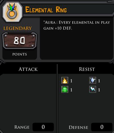Elemental Ring profile