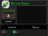 Reptilian Dagger