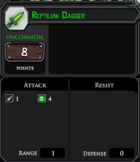 Reptilian Dagger profile