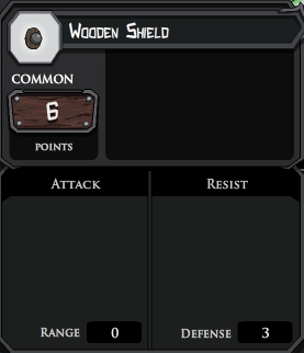 Wooden Shield profile