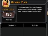 Untmori's Plate