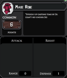 Mage Robe profile