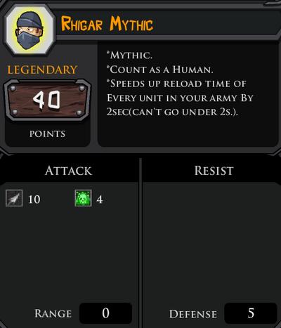 Rhigar Mythic profile