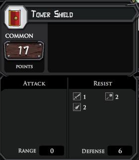 Tower Shield profile