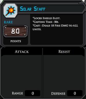 Solar Staff profile
