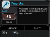 Frost Axe