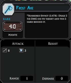 Frost Axe profile